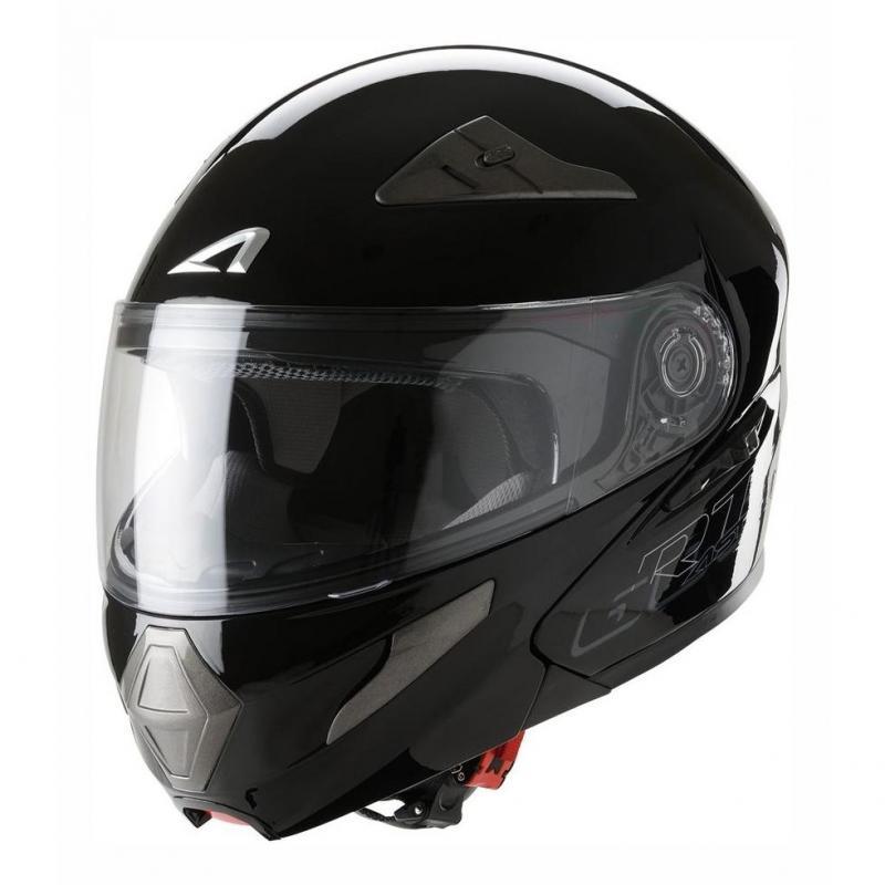 Casque Modulable Astone Rt600s Mono Exclusive noir gloss
