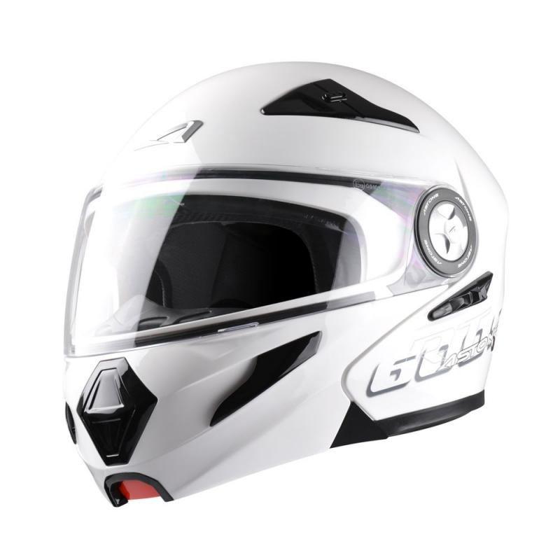 Casque Modulable Astone Rt600s Mono Exclusive blanc gloss