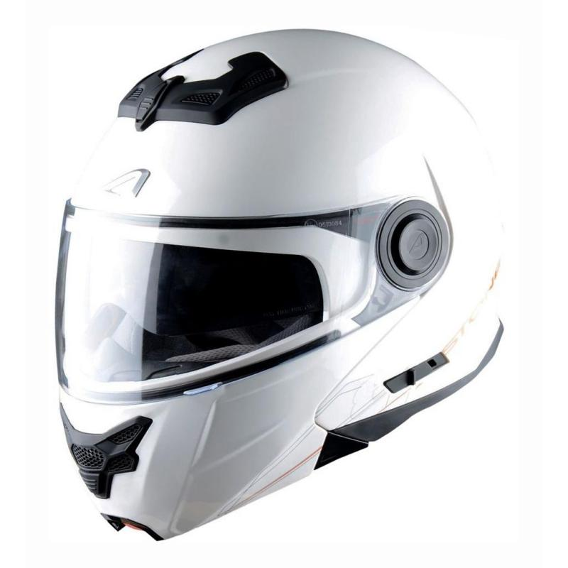 Casque Modulable Astone Rt800 Solid Exclusive blanc