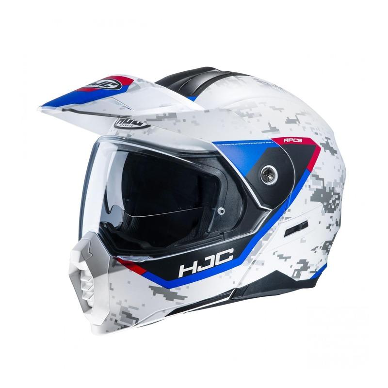 Casque modulable HJC C80 Bult MC21SF bleu/blanc/rouge