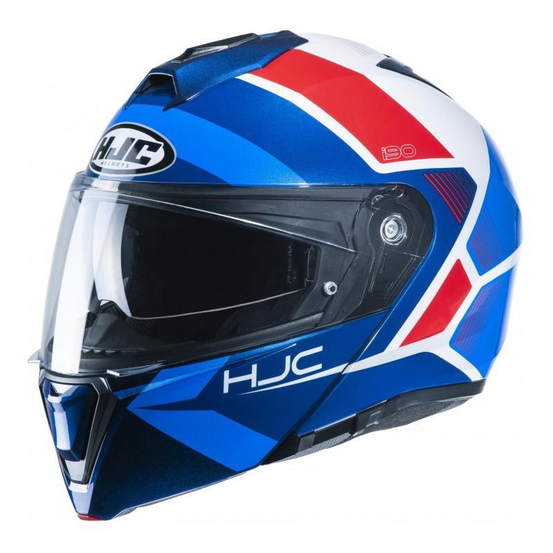 Casque modulable HJC i90 Hollen MC21 bleu/rouge/blanc