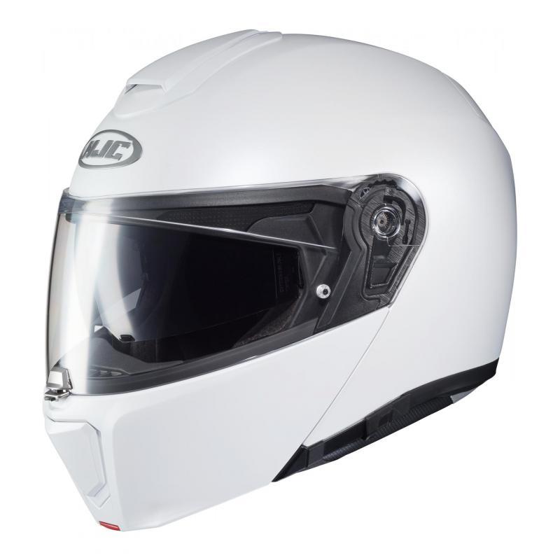 HJC Casque Moto RPHA 90 Perle Taille L Blanc