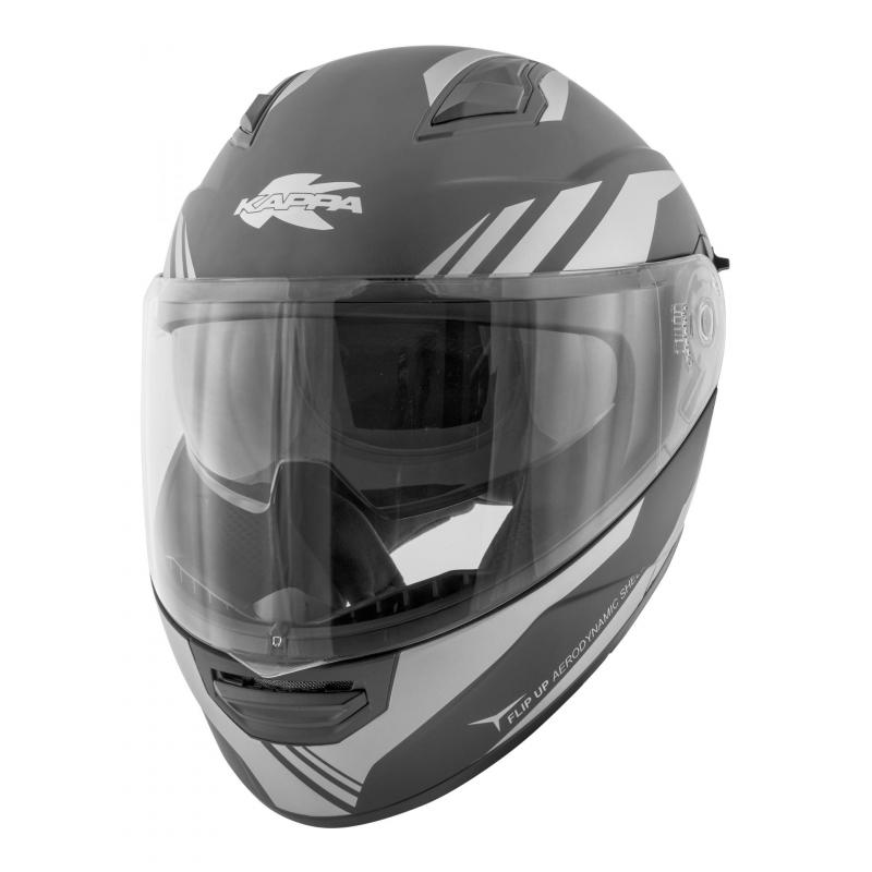 Casque modulable Kappa KV31 Arizona Phantom titanium gris mat