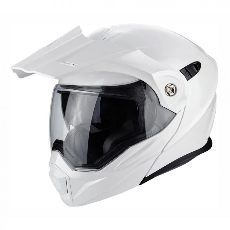 Casque modulable Scorpion ADX-1 blanc