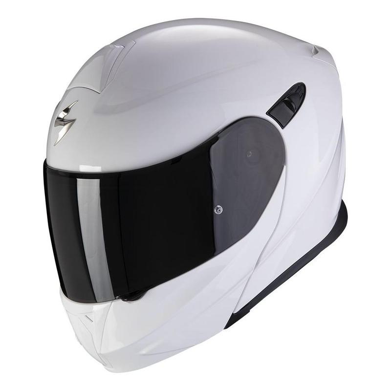 Casque modulable Scorpion EXO-920 Evo Solid blanc