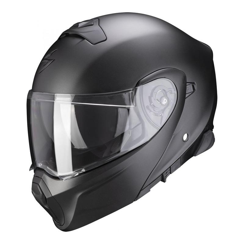 Casque modulable Scorpion EXO-930 Smart noir nacré