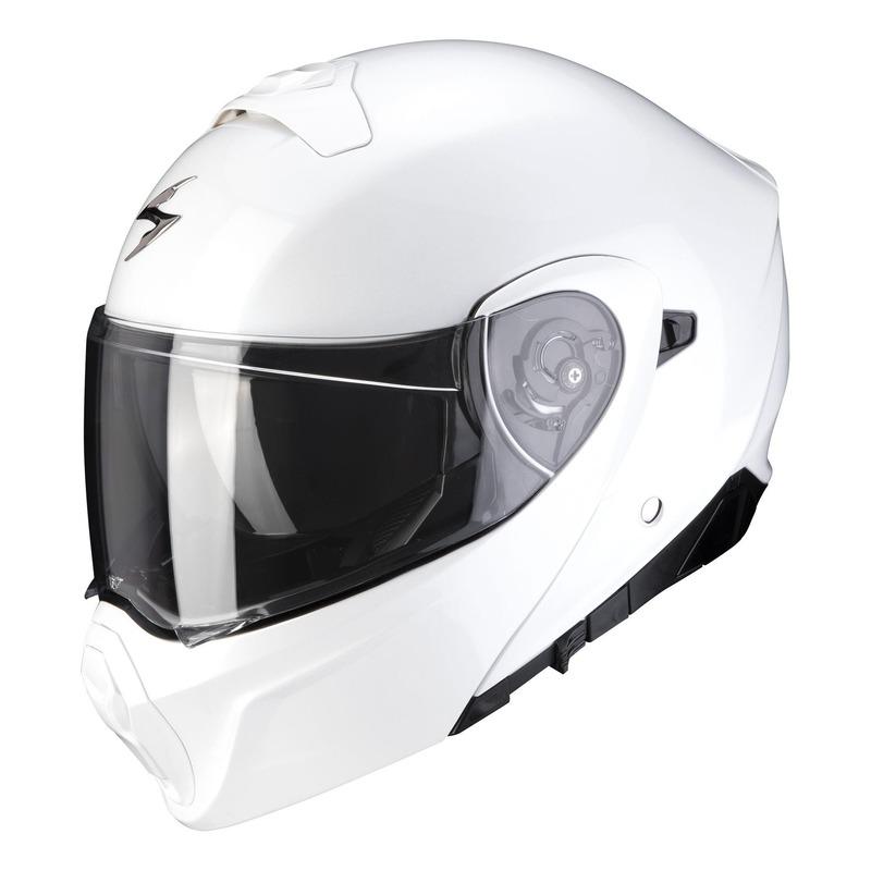 Casque modulable Scorpion EXO-930 Solid blanc