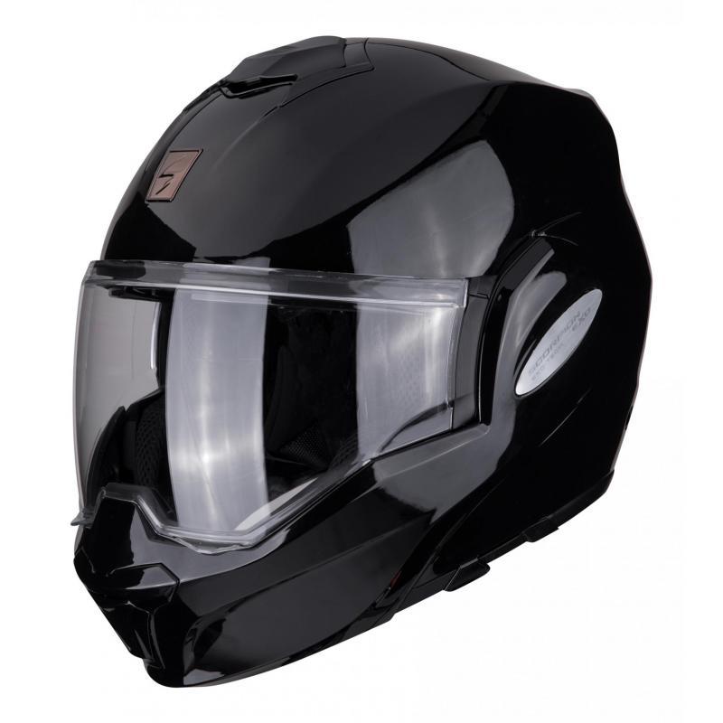 Casque modulable Scorpion Exo-Tech Solid noir