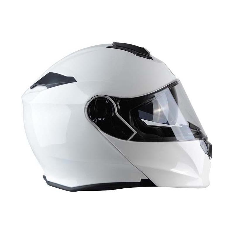 Casque modulable Trendy T-704 blanc verni