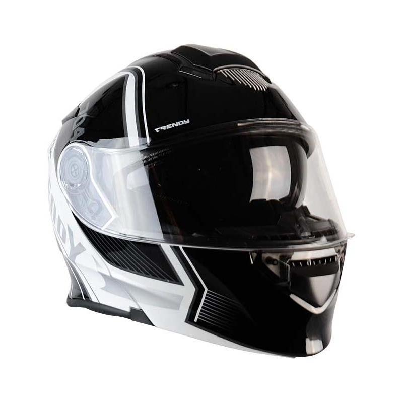Casque modulable Trendy T-704 Ready blanc / noir verni