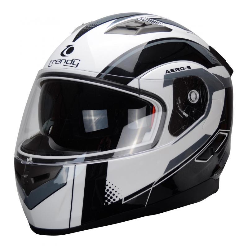 Casque modulable Trendy T-706 blanc / noir
