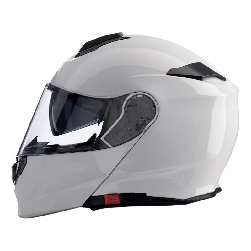 Casque modulable Z1R Solaris blanc brillant