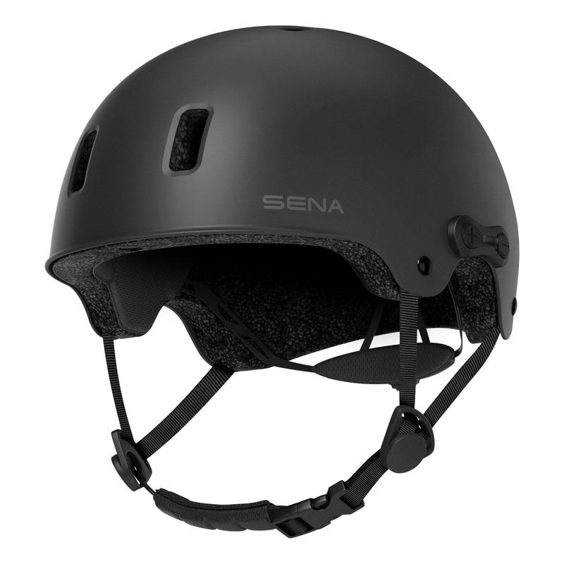 Casque multisports Sena Rumba intercom Bluetooth® intégrée noir mat