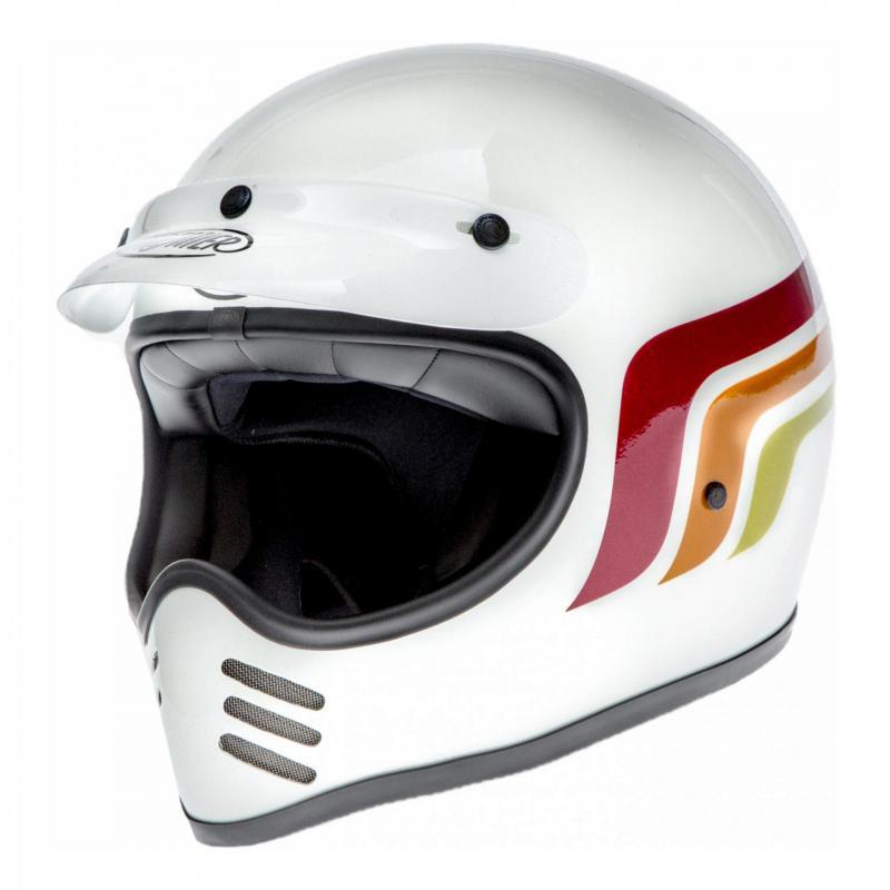 Casque Premier MX LC8 blanc