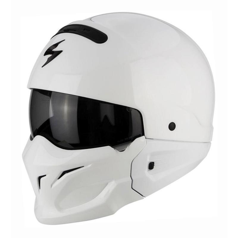 Casque Scorpion EXO-COMBAT blanc