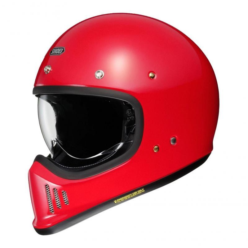 Casque Shoei Ex-Zero shine red
