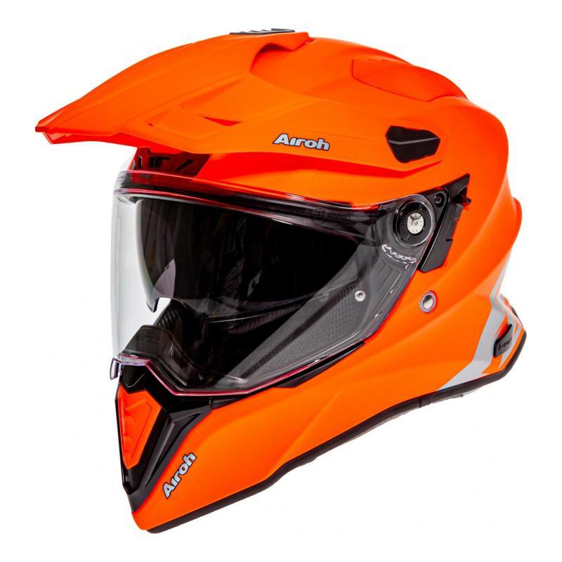 Casque trail Airoh Commander Color orange fluo mat