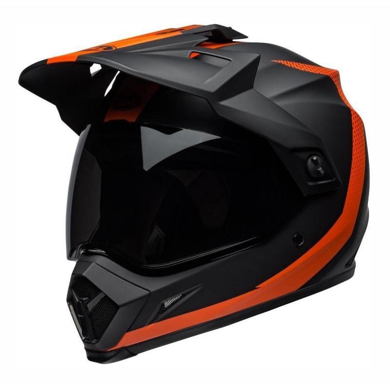Casque Trail Bell MX 9 Adventure Mips Switchback noir/orange