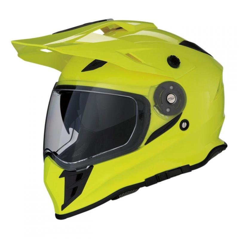 Casque trail intégral Z1R Range jaune fluo