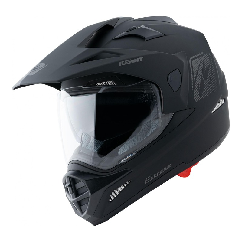 Casque trail Kenny Extreme Solid noir mat