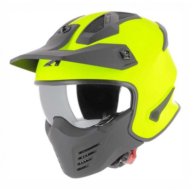 Casque transformable Astone Elektron jaune neon