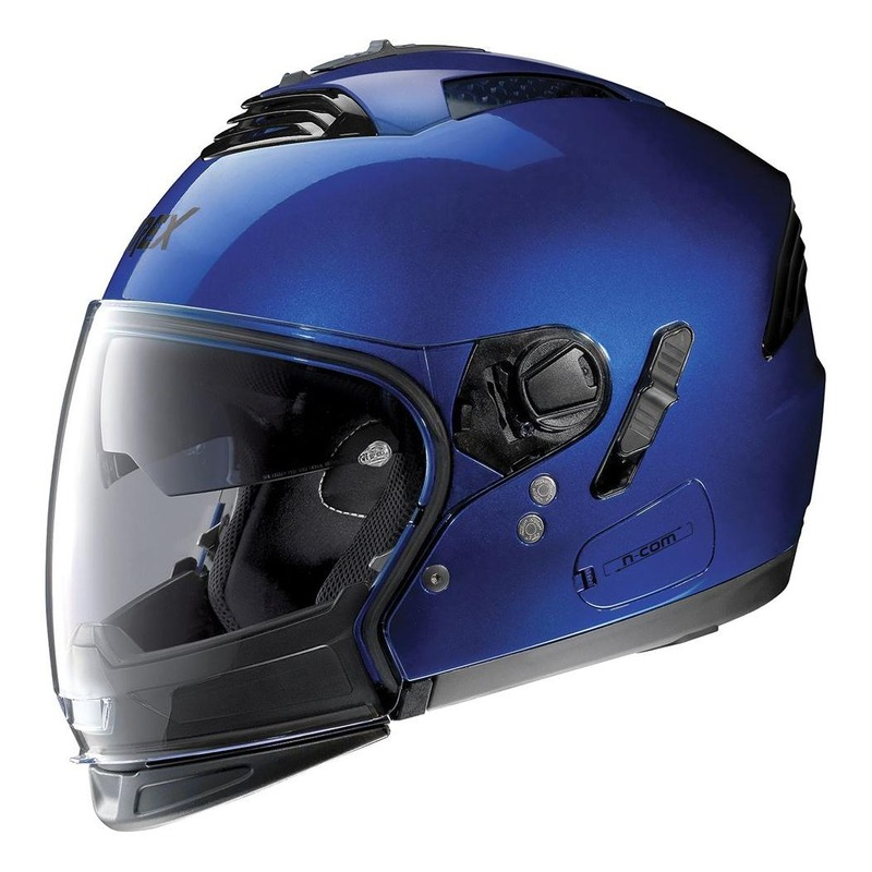 Casque transformable Grex G4.2 Pro Kinetic N-Com Cayman blue