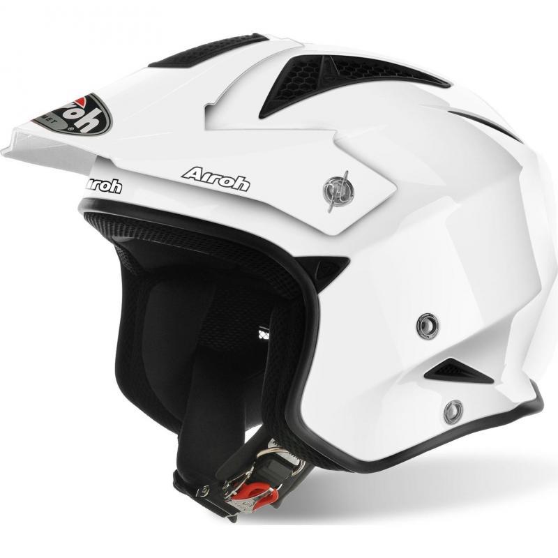 Casque trial Airoh TRR S Color blanc
