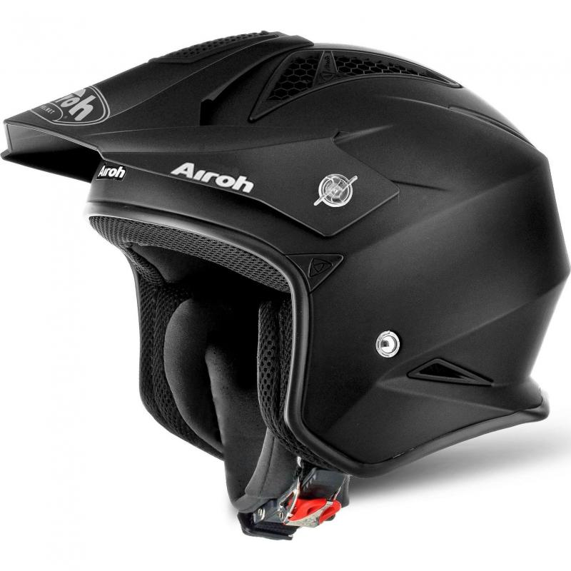 Casque trial Airoh TRR S Color noir mat