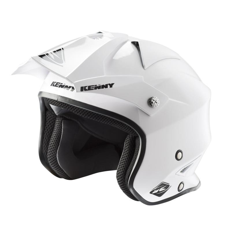 Casque trial Kenny Trial Air Solid blanc