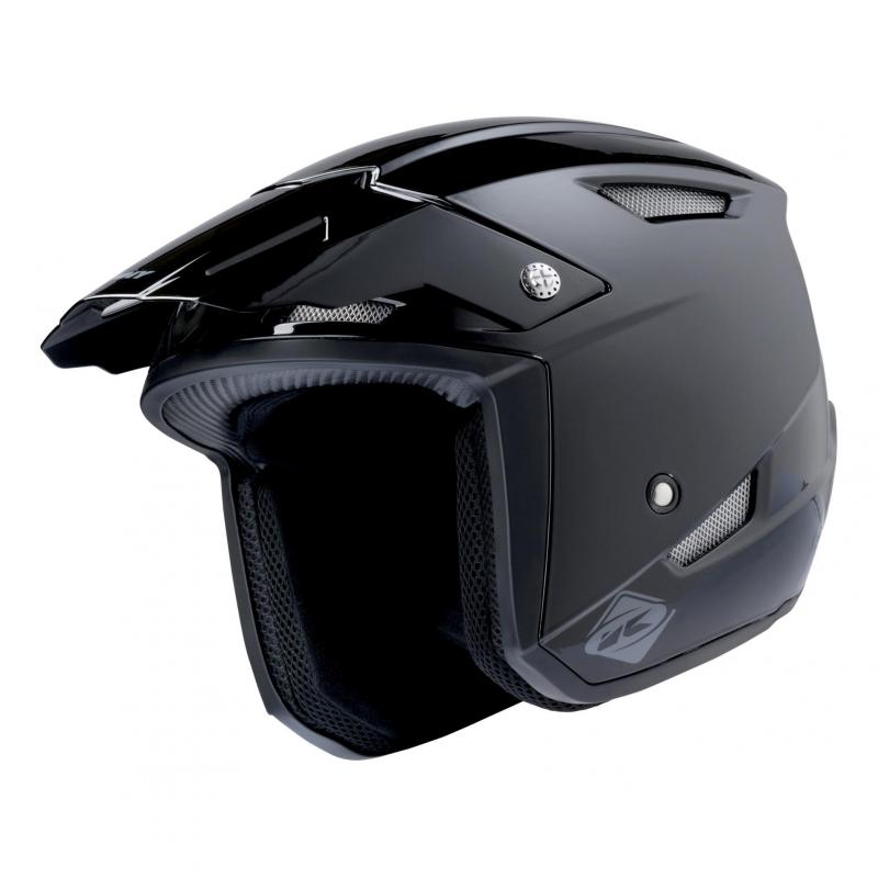 Casque trial Kenny Trial-up noir