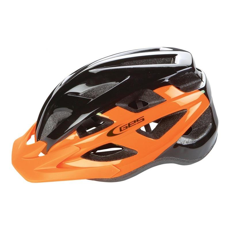 Casque vélo city Ges Varik orange/noir