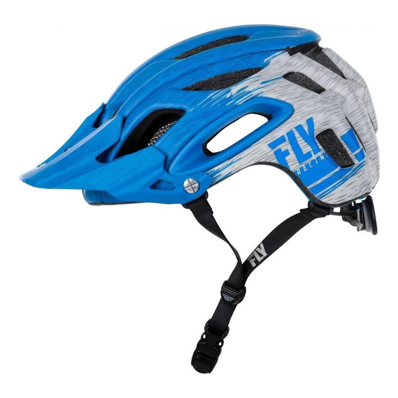Casque vélo Fly Racing Freestone bleu/gris mat