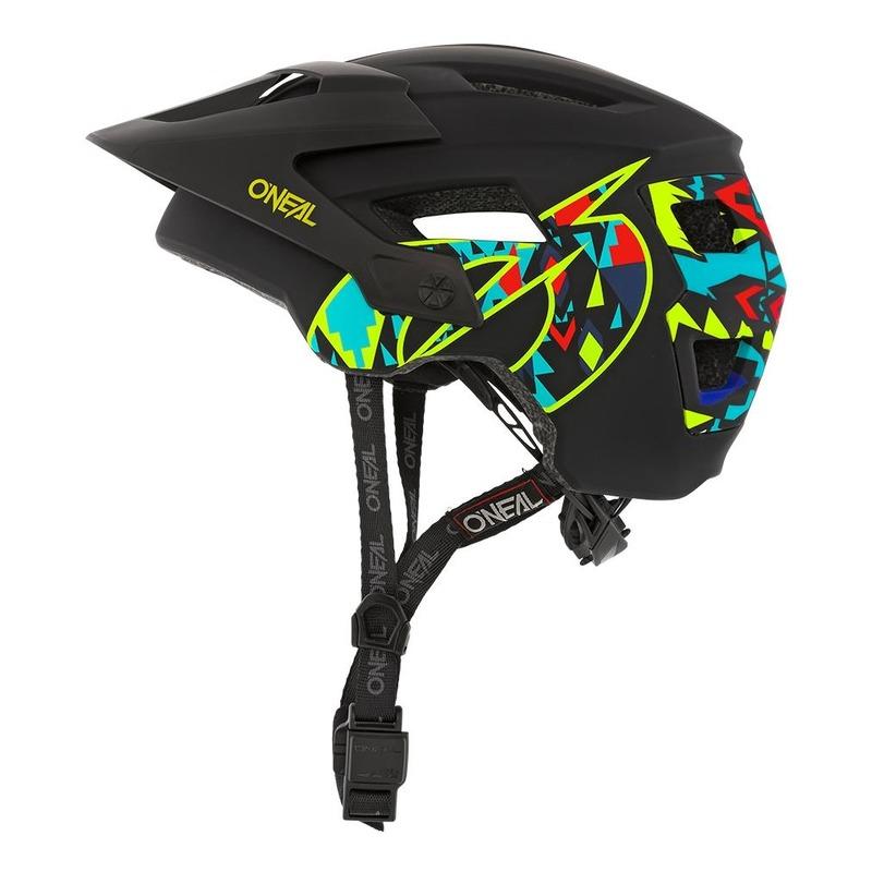 Casque vélo O'Neal Defender Muerte noir/multicolore