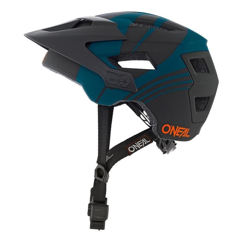 Casque vélo O'Neal Defender Nova petrol/noir/orange