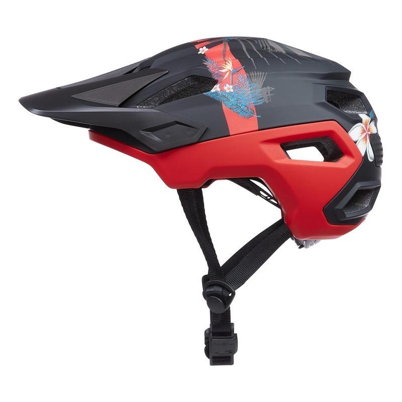 Casque vélo O'Neal Trailfinder Rio V.22 multicolore/rouge/noir