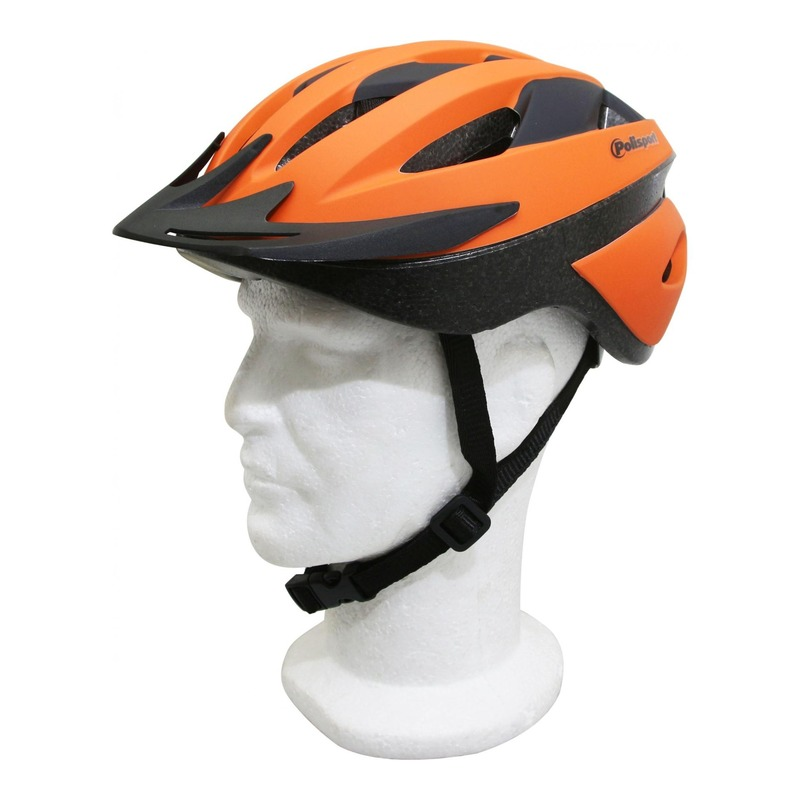 Casque vélo route/VTT Polisport Sport Ride orange