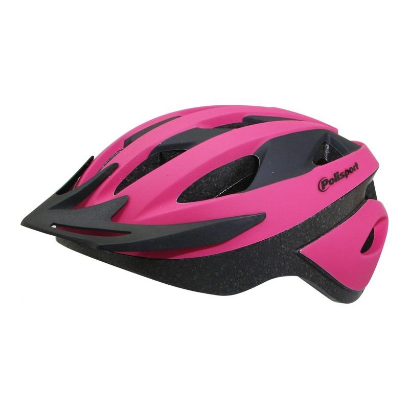 Casque vélo route/VTT Polisport Sport Ride rose