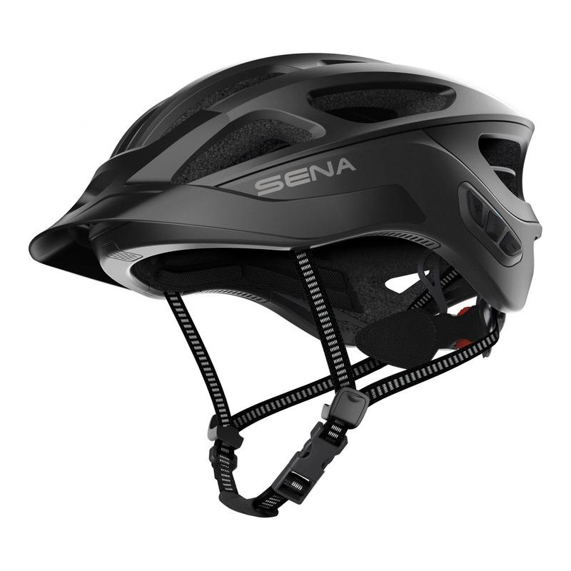 Casque vélo Sena R1 EVO Mesh Intercom™ intégrée noir mat