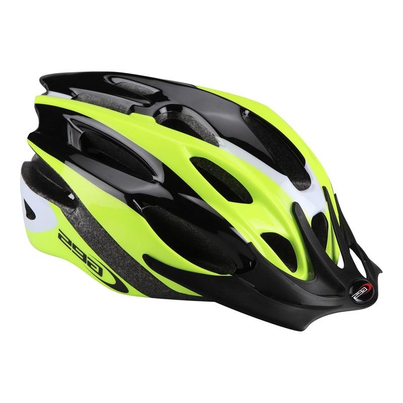 Casque vélo VTT Ges Rocket jaune fluo/noir