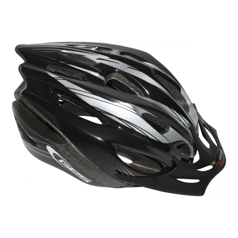 Casque vélo VTT Ges Rocket noir