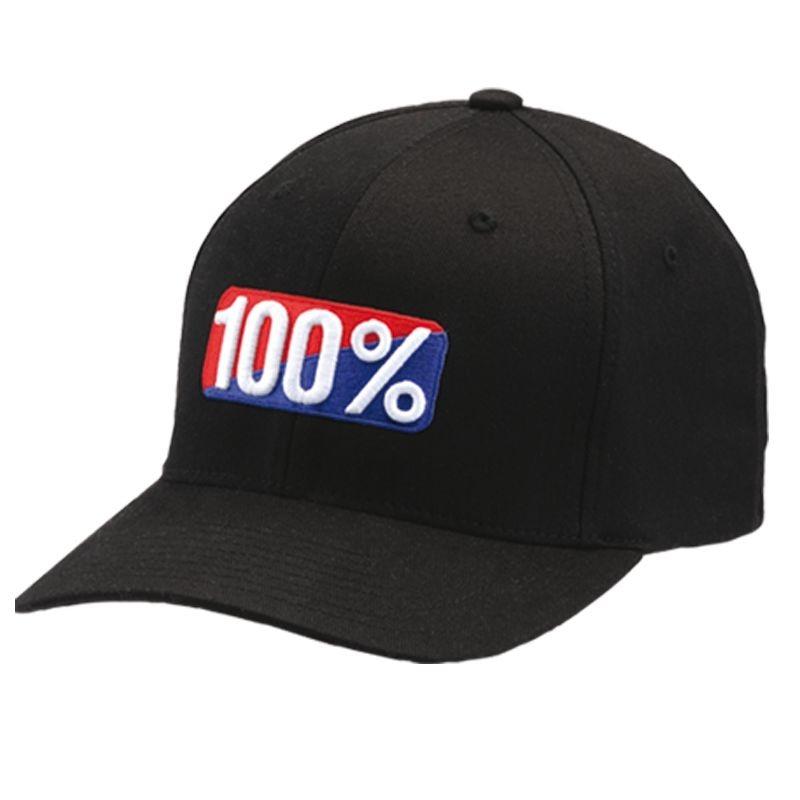 Casquette 100% Corpo Snapback noir/blanc
