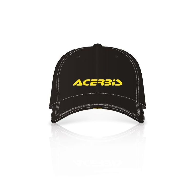 Casquette Acerbis PODIUM noir/jaune