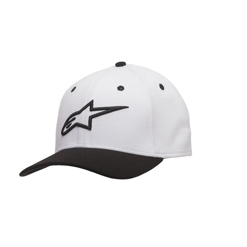 Casquette Alpinestars Ageless Curve blanc/noir