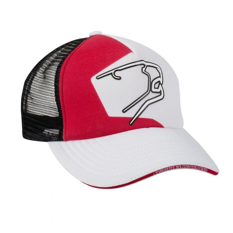 Casquette Bering Racing noir/blanc/rouge