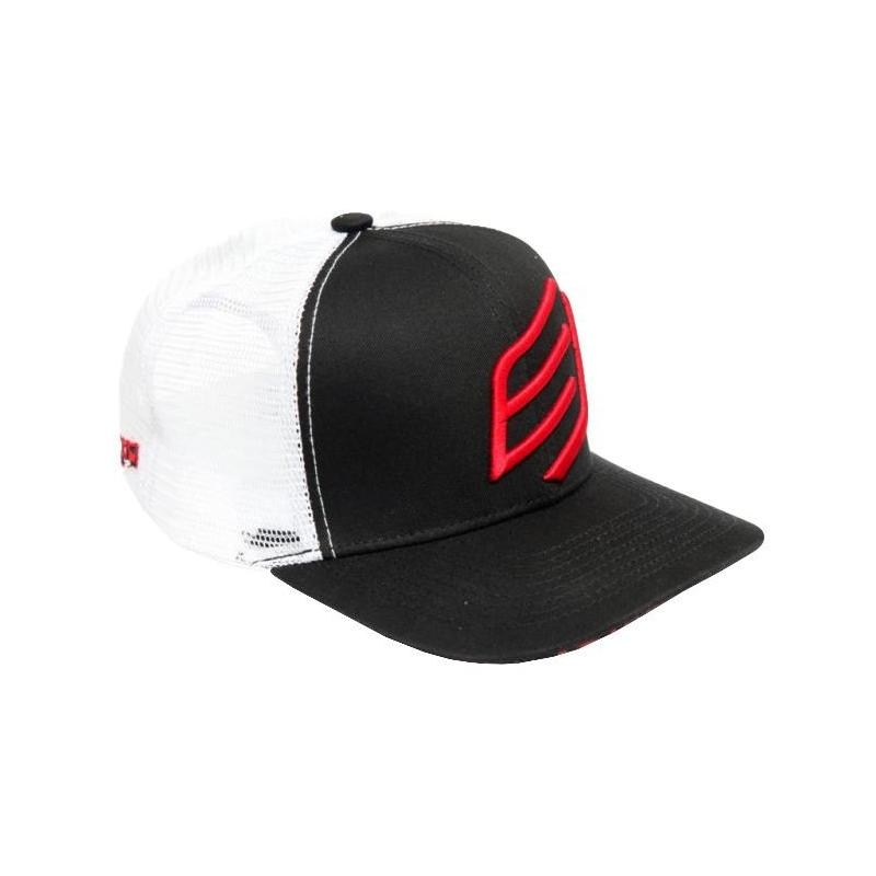 Casquette Bud Racing Big Icon blanc/rouge