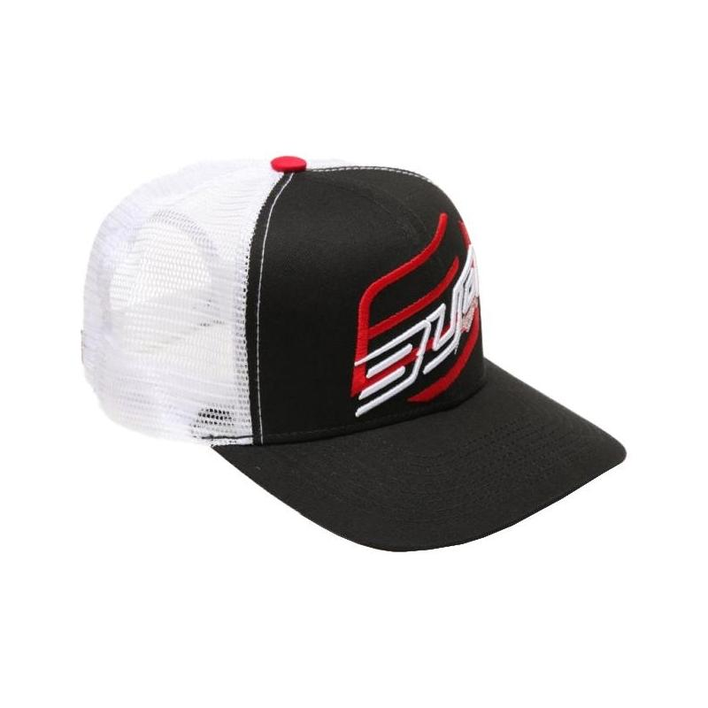 Casquette Bud Racing Double blanc/rouge