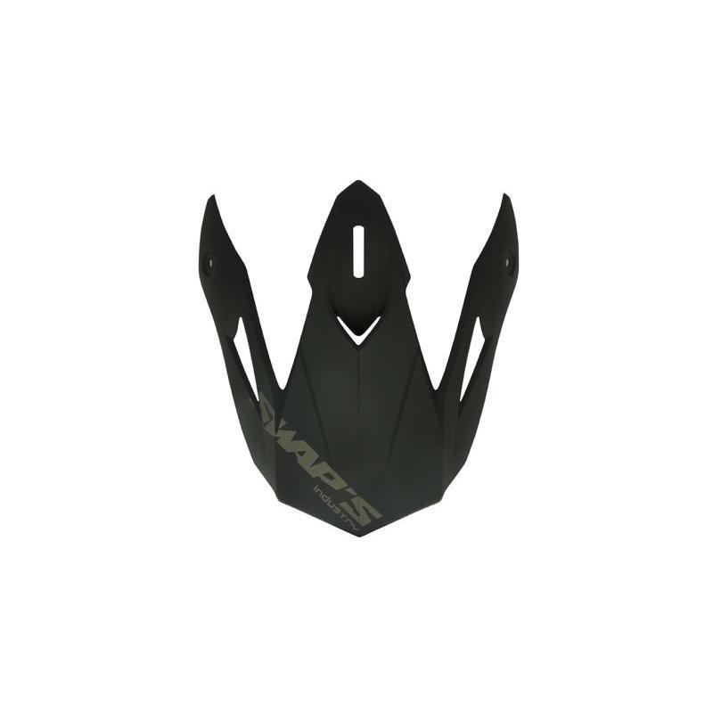 Casquette de casque Swaps S818 noir mat