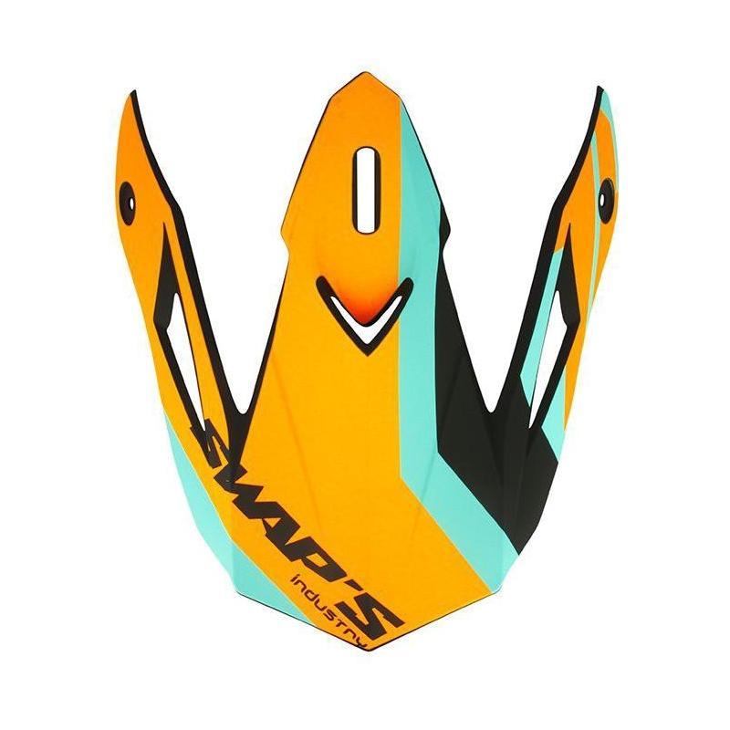 Casquette de casque Swaps S818 orange/bleu