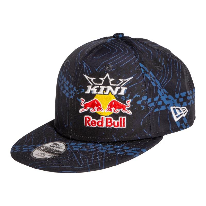 Casquette enfant Kini Red Bull Cloting Tonography bleu nuit