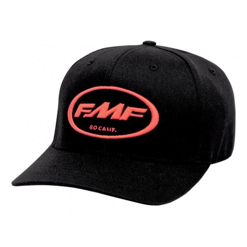 Casquette FMF Factory Classic Don noire logo rouge